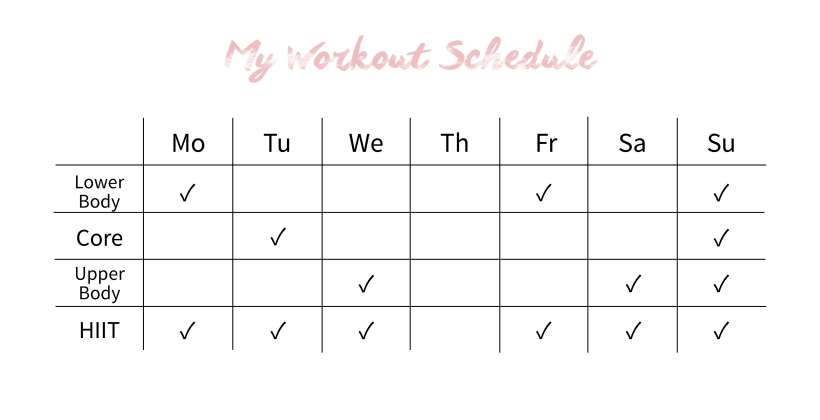 my-workout-schedule