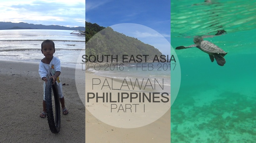 South East Asia Travel Vlog 5, Cacnipa Island, Palawan, Philippines